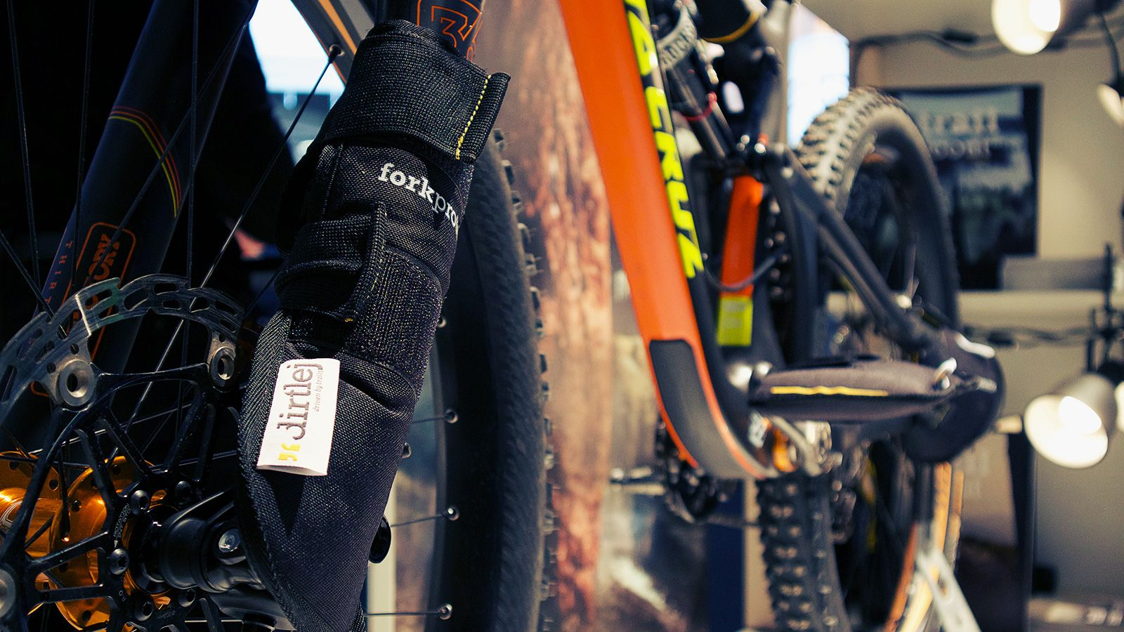 dirtlej - bikeprotection bike carrier